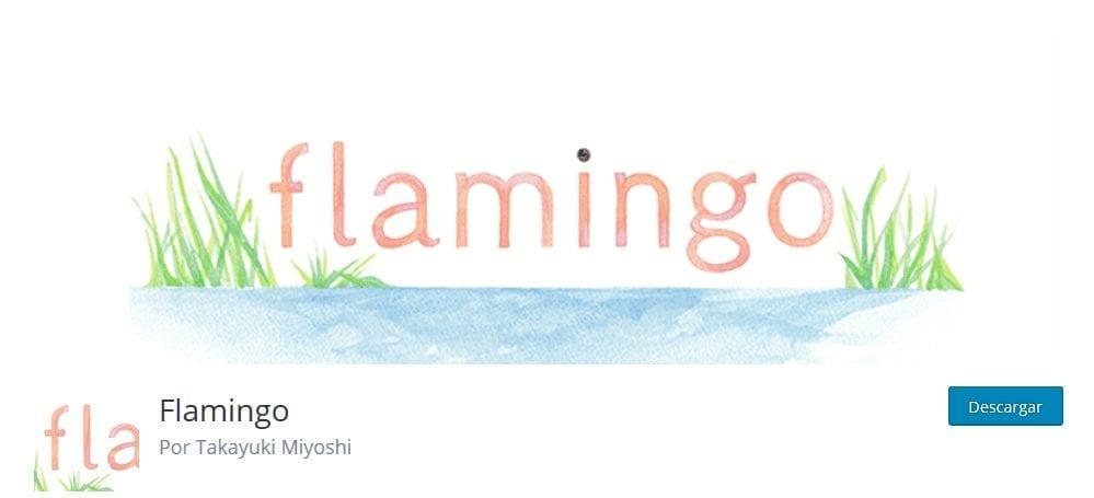 flamingo- plugin para contact form 7