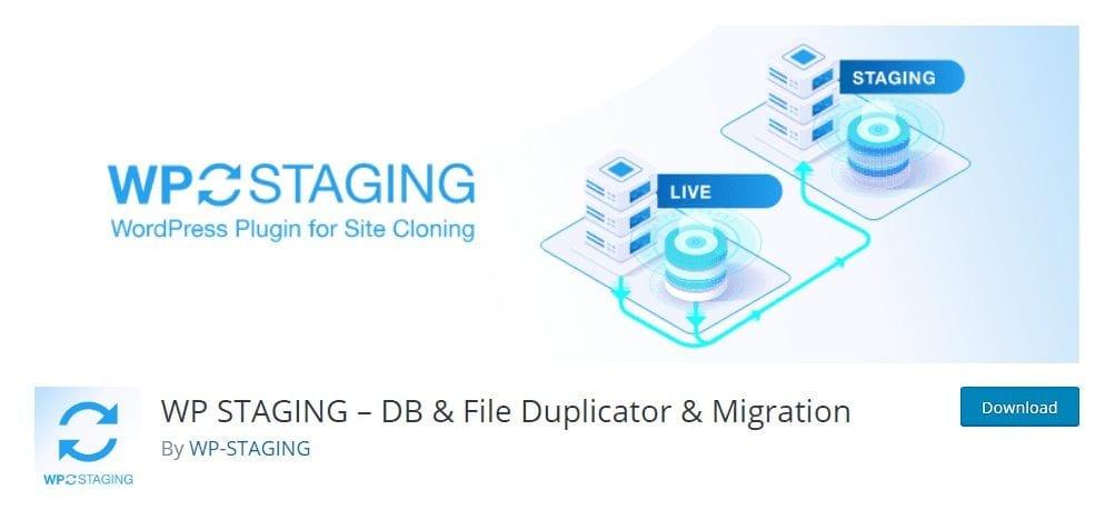 plugin wp staging-seguridad para wordpress