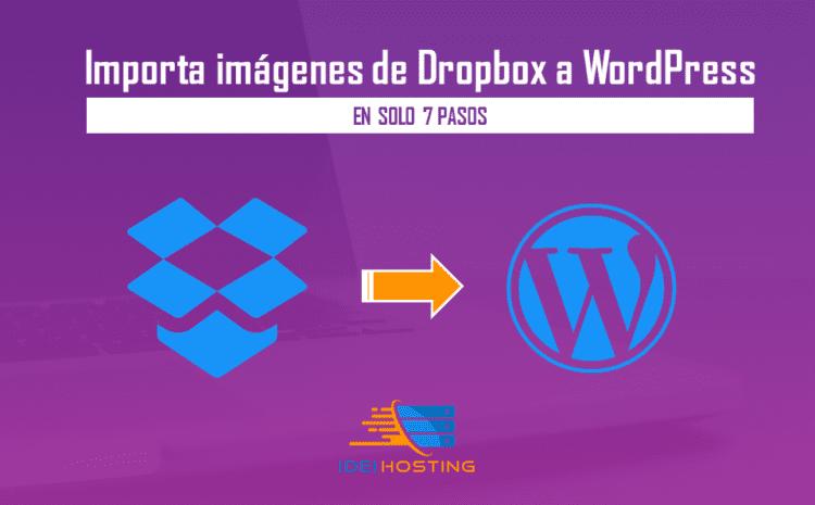 importar imagenes dropbox a wordpress
