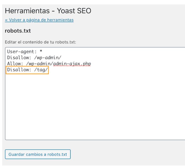 no-indexar-etiquetas-en-wordpress